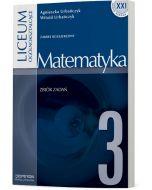 Matematyka 3. Zbiór zadań. Zakres rozszerzony