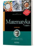 Matematyka 1. Odkrywamy na nowo. Podręcznik dostosowany do wieloletniego użytku.
