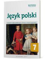 Język polski 7. Zeszyt ćwiczeń