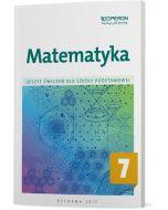 Matematyka 7. Zeszyt ćwiczeń