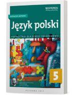Język polski 5. Kształcenie językowe. Podręcznik