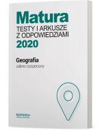 okladka testy geografia matura 2020 zakres rozszerzony