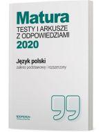 okladka testy jezyk polski matura 2020 zakres podstawowy i rozszerzony