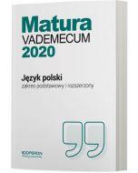 okladka vademecum jezyk polski matura 2020 zakres podstawowy i rozszerzony