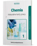 okladka maturalne karty pracy chemia szkola ponadpodstawowa 1 klasa zakres rozszerzony