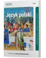 okladka podrecznika jezyk polski szkola ponadpodstawowa 1 klasa linia 1 czesc 2 zakres podstawowy i rozszerzony