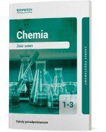 okladka zbiory zadan chemia szkola ponadpodstawowa klasa 1-3 zakres podstawowy