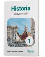 okładka zeszyt cwiczen historia szkoly branzowe 1 stopnia