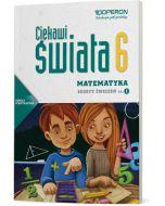 Matematyka 6. Zeszyt ćwiczeń. Cz. I. Ciekawi świata