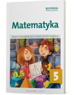 Matematyka 5. Zeszyt ćwiczeń