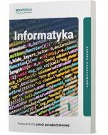Podręcznik Informatyka. Klasa 1. Linia I. Zakres podstawowy. Liceum i technikum