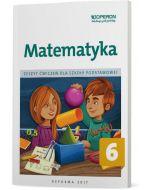 Matematyka 6. Zeszyt ćwiczeń