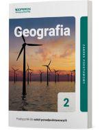 Podręcznik Geografia. Klasa 2. Zakres podstawowy. Liceum i technikum