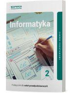 Podręcznik Informatyka. Klasa 2. Linia I. Zakres podstawowy. Liceum i technikum