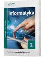 Podręcznik Informatyka. Klasa 2. Zakres rozszerzony. Liceum i technikum
