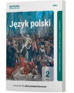 Podręcznik Język polski. Klasa 2. Część 1. Linia I. Zakres podstawowy i rozszerzony. Liceum i technikum