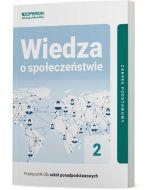 Podręcznik Wiedza o społeczeństwie 2. Zakres podstawowy. Liceum i technikum