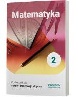 Podręcznik Matematyka. Klasa 2. Szkoła branżowa I stopnia