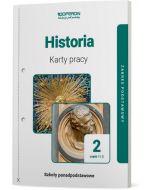 Karty pracy ucznia. Historia. Klasa 2. Część 1 i 2. Zakres podstawowy. Liceum i technikum