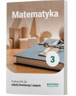 Podręcznik Matematyka. Klasa 3. Szkoła branżowa I stopnia