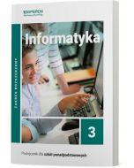 Podręcznik Informatyka. Klasa 3. Zakres rozszerzony. Liceum i technikum
