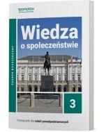 Podręcznik Wiedza o społeczeństwie. Klasa 3. Zakres rozszerzony (zawiera treści z zakresu podstawowego). Liceum i technikum