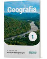 Podręcznik Geografia. Klasa 1. Szkoła branżowa I stopnia (wersja poprawiona)