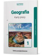 okladka karty pracy geografia szkola ponadpodstawowa 1 klasa zakres podstawowy