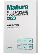 okladka testy matematyka matura 2020 zakres rozszerzony