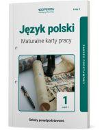 okladka maturalne karty pracy jezyk polski szkola ponadpodstawowa 1 klasa linia 2 czesc 1 zakres podstawowy