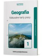 okladka maturalne karty pracy geografia szkola ponadpodstawowa 1 klasa zakres rozszerzony