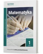 okladka podrecznika matematyka szkola ponadpodstawowa 1 klasa zakres rozszerzony czesc 1